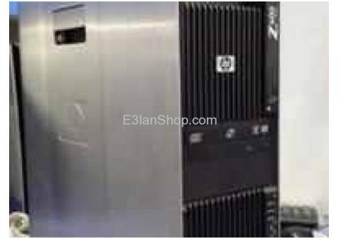 اجهزا HP Z600 XEON ب2 برسيسور كاش 16 ميجا للرندر وللجرافيك العالي