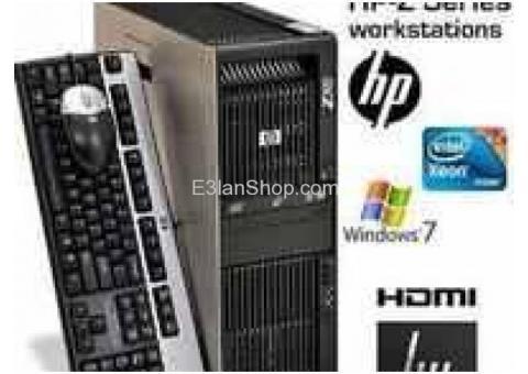 HP Z800 XEON X5650 ×2 = 24 كور 12 جهاز للرندر والجرفك