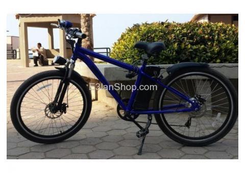 دراجة كهربائية E-BIKE ZORBA جديدة مقاس 26