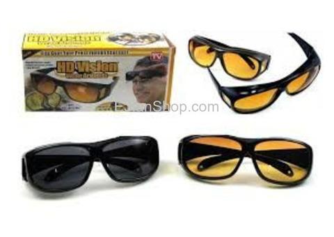 نظارات HD لتعزيز اللون والوضوح اثناء القيادة في الليل والنهار HD Vision