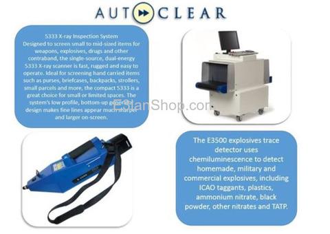اجهزة X-Ray لكشف المعادن للحقائب-الكشف عن المتفرقعات