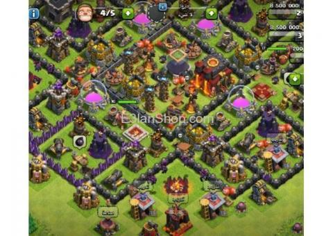 Clash of clans Th 10 Max & 3200 Gems