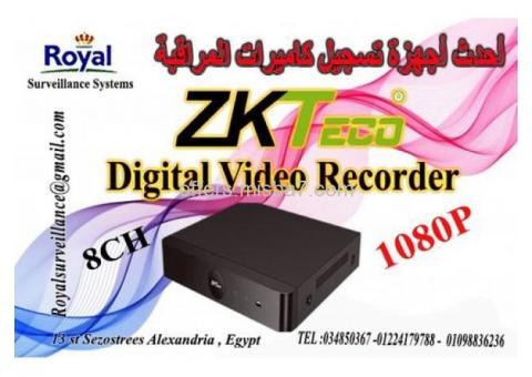 أجهزة تسجيل  كاميرات المراقبة 8 CH ماركة ZKTECO