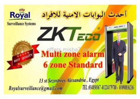 أحدث البوابات الامنية ZONE ماركة ZKTeco