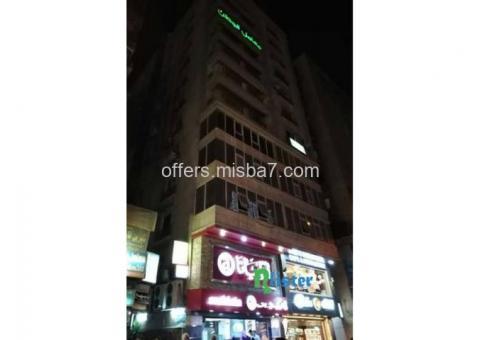افضل استثمار امتلك عيادتك الخاصة على شارع التحريرميدان  الدقى90م